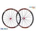 China S2 Duomatic Hub 700C Aluminum Bicycle Wheels Mill Finish Surface wholesale