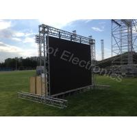 Big Outdoor Rental LED Display , P10 HD Video Digital Display Board