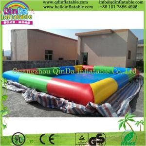 China Guangzhou QinDa High Quality PVC Inflatable Swimming Pool for Sale on sale