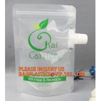 China Plastic Cosmetic Spout Pouch For Facial Mask Reusable Hair Dye Chemical Packaging Spout Bag,Multi-purpose Liquid Chemica on sale