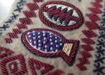 Hand Made Embroidery Designs Patches , Military Uniforms Emboired Patches