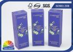 OEM Printing Luxury Kraft Paper Cosmetic Packaging Box / Custom Beauty Gift Boxes