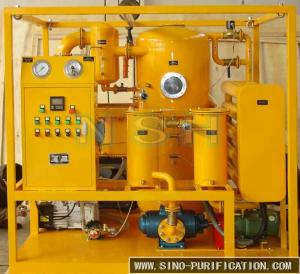 China PLC Insulation Vacuum Oil Purifier Transformers And Transformer Oil Maintenance on sale