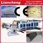 Bubble film, EPE, paper, plastic etc PLC DC paper cutting machine