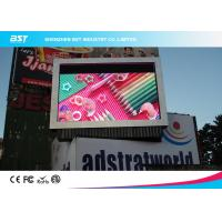 China P8 SMD 3535 Outdoor Advertising Led Display Screen With 140° View Angle on sale