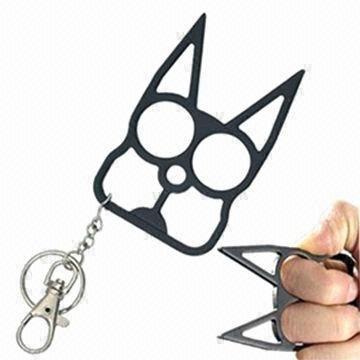 Self Defense Kitty Cat Novelty Keychain Brutus Self Defense Keychain Images ec8070bccef9