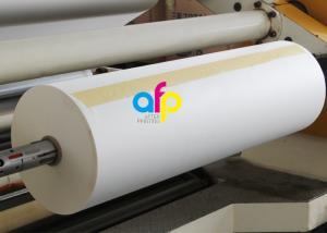 China 23 Micron Dry Thermal Matt Lamination Roll EVA Glue Coating Eco Friendly on sale