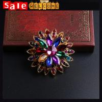 Colorful Brooches Pins Brooch for Women Whloesale,Colorful Flower Xmas Brooch,Christmas