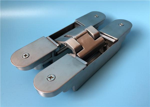 Sus304 Universal 3d Adjustable Door Hinges 100000 Times On Open