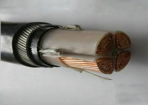 China 70mm2 / 95mm2 4 Core Cable Pvc Insulated Swa 0.6/1kv Dc Power Cable on sale