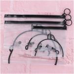 Fashion Hanging Circle PVC Zipper Bag , Waterproof Zipper Cosmetic Bag
