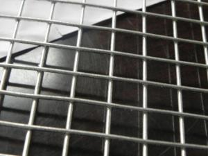 China Hot Dipped Galvanized 4x4 Weld Mesh Panels / Sheets Super Shock Resistance on sale