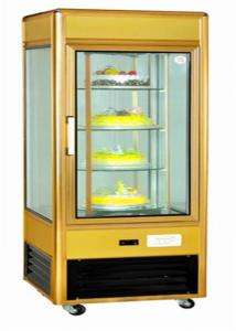 China Upright Refrigerated Countertop Bakery Display Case With Fire Resistant Material on sale