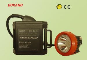 China KL4Ex high quality miners cap lamp, ABS material mining headlamp, red underground mine lamp on sale