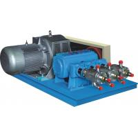 Large Flow LCO2 / LNG Industrial Gas Equipment Cryogenic Liquid Pump Blue Color