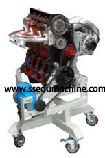 China Engine Training Model 2 Stroke Petrol Engine Teaching Equipment on sale