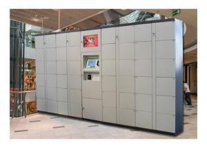 China Changing Room Smart Luggage Cabinet Storage Locker , Electronic Door Locker on sale