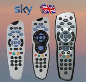 China Professional Replacement SKY Remote Control AA Battery Powered For UK SKY Box on sale