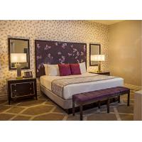 China Royal King Size Modern Queen Bedroom Sets  , High Standard Hotel Style Bedroom Furniture on sale