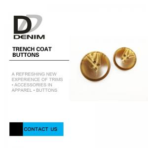 China Plastic / Alloy Metal Trench Coat Buttons 12L 14L 18L 24L Decorative Winter Button on sale