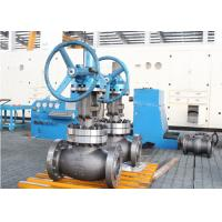 600lb 8 Inch Globe Valve Trim WCB Body Gear With Spherical Disc Design