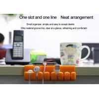 China Multi-function and multi-purpose Desktop Cable Organizer Eco-Friendly Silicone on sale