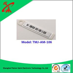 China Plastic Supermarket Security Tags 58khz Eas Hang Tag For Jewelry on sale