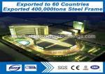 Storage Lightweight Steel Buildings , Welded H Lightweight Steel Structures Fast Delivery