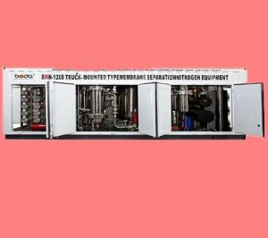 China Adjustable Pressure BMN Membrane Gas Separation Plant 95% Nitrogen Purity on sale