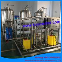 10T/H reverse osmosis pure water complete production line water treatment equipment with RO system