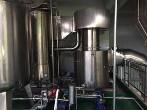 China Egg Powder Food Processing Plant Equipment For Mixing / Granulating / Drying on sale