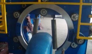 China Электрический управляемый тип связанная машина упаковки высокое Интеллектуализатион провода on sale