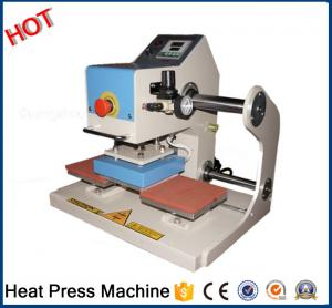 China New type Semi automatic pneumatic double sided mark heat press machine for sale for all fabric factory16E on sale