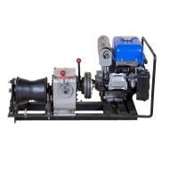 China Belt Driving Stably Come Along Winch 3 Ton Small Volume With YAMAHA Engine on sale