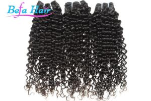 China Beauty 20 Spiral Curl Indian Virgin Human Hair Bright Red / Natural Black Hair Extensions on sale