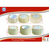 China Transparent BOPP  Self Adhesive Packaging Tape 48mm 55mm 60mm on sale