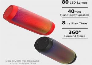 China BQ-615 Pro Portable Music Bluetooth Speaker Colorful LED Wireless NFC Hands-free Bass Stereo Sound Box Support TF Card U on sale