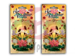 China 2mm Cotton Paper, CMYK on 2 Side Customized Hanging Paper Air Freshener For Car / Office on sale