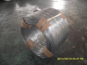 China 12# hot dip galvanized steel wire on sale