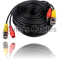 China 20M BNC Video DC Power Cable For CCTV Camera DVRs Coaxial Cable on sale