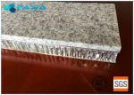 China 20 Mm Thickness Light Weight Onyx Honeycomb Stone Panels Small Radiation Pollution wholesale