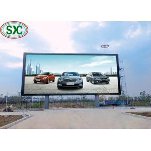 China Advertisement Perimeter Football Stadium Led Display Super Clear Vision on sale