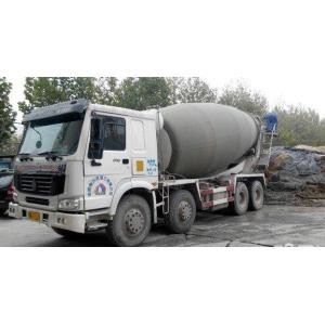China Drum Mixer Concrete Truck 16cbm , Concrete Transport Truck With Imported Pump on sale