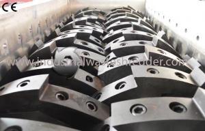 China Bicycle Shell Aluminium Shredder Machine , Scrap Car Shredder High Capacity on sale