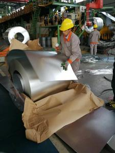 China Aluzinc Steel Coils DX51D+AZ120 High Heat Resistance Aluzinc Coil Aluzinc Steel Coil Astm A792 AZ150 Ral9003 on sale