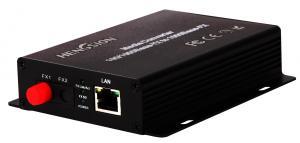 China Metal casing D2.5 socket power port Enterprise network switch 10 / 100 / 1000M auto adaptive Ethernet Media Converter on sale