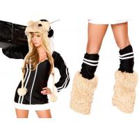 China Women Fashion DJ Spinwheel Hamster Party Adult Costumes White Black Brown Color on sale