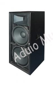 Popular 500w Double Passive PA Speakers 15 Inch 2-Way Stage