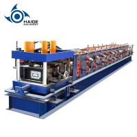 Automatic Touch Screen CZ Purlin Roll Forming Machine For Galvanized Metal Steel Sheet