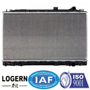 China MITSUBISHI Car Engine Radiator For Lancer / Mirage / Col 1987-1991 Open Type on sale